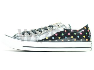 【US9】CONVERSE ALL STAR GLAM-UP OX 1b293 black