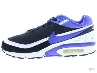 【US10】NIKE AIR CLASSIC BW FB 631623-051 black/persian violet-white-sl