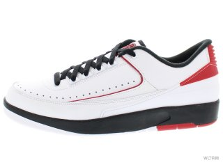 AIR JORDAN 2 RETRO LOW 832819-101 white/varsity red-black