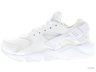 【27.5cm】NIKE WMNS AIR HUARACHE RUN PRM 683818-100 white/white