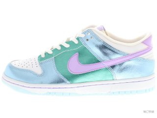 【US7Y】NIKE DUNK LOW (GS) 309601-400 blue mist/lilac-cool mint-wht