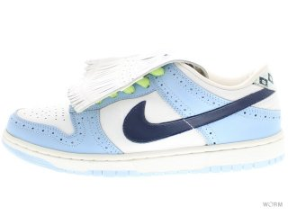 NIKE SB DUNK LOW PREMIUM SB 313170-141 white/midnight navy-blue ice