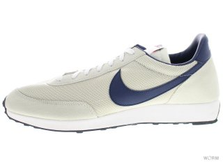 【US12】NIKE AIR TAILWIND 487754-040 light bone/midnight navy