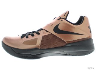 【US10】NIKE ZOOM KD IV 473679-700 mtlc bronze/black-chllng red