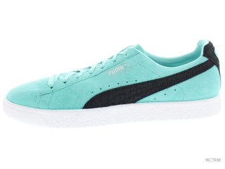 【US10】PUMA CLYDE x DIAMOND Supply 363501-01 aruba blue-p black-p white