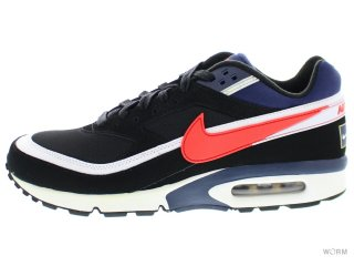 NIKE AIR MAX BW PREMIUM 819523-064 black/crimson-midnight navy