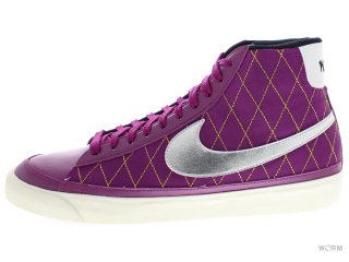 【US11】NIKE BLAZER MID '09 ND 371761-501 red plum/matte silver-sail