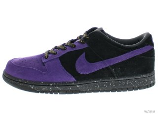 【US10.5】NIKE DUNK LOW CL 304714-551 vrsty prpl/vrsty prpl-anthrct