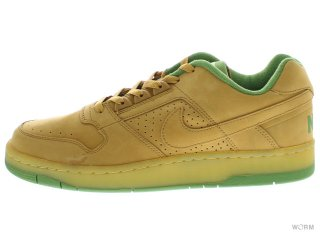 【US9.5】NIKE DELTA FORCE LOW 312033-771 wheat-wheat-tomatillo