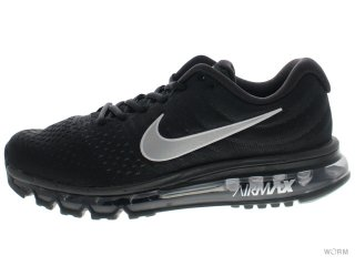 NIKE AIR MAX 2017 849559-001 black/white-anthracite