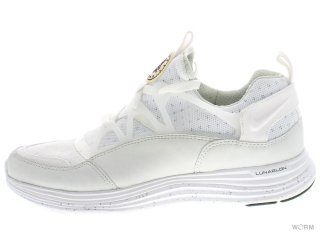 【US10】NIKE AIR LUNAR HUARACHE LGHT SP 776373-110 white/white-black