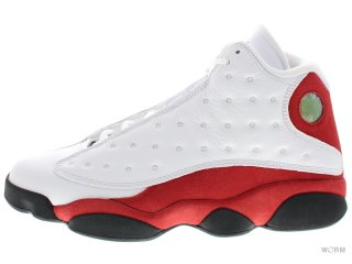 AIR JORDAN 13 RETRO 414571-122 white/black-team red
