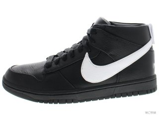 【US7.5】NIKE DUNK LUX CHUKKA / RT 910088-001 black/white