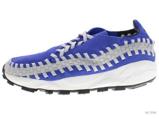 【US9】NIKE HTM AIR FOOTSCAPE WOVEN 313182-441 varst royal/varst royal-nt gry