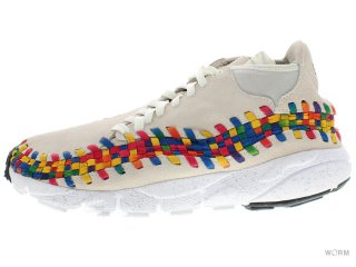 【US9.5】NIKE AIR FOOTSCAPE WVN CHKKA PRM QS 525250-111 sail/sail-white
