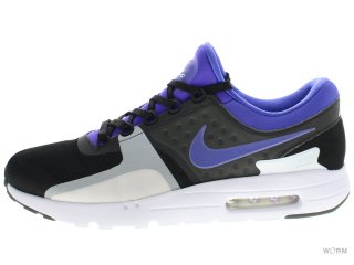 【US12】NIKE AIR MAX ZERO QS 789695-004 black/persian violet-white