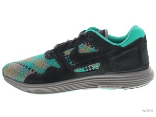 【US9.5】NIKE LUNAR FLOW WOVEN QS 526636-007 anthracite/black-bamboo