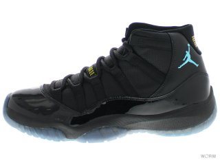 【US11.5】AIR JORDAN 11 RETRO 378037-006 black/gamma blue-blck-vrsty mz
