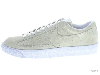 【US8】NIKE BLAZER LOW FRAGMENT SP 677242-110 white/white