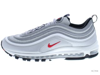 NIKE AIR MAX 97 OG QS 884421-001 metallic silver/varsity red