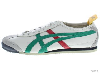 【US10】Onitsuka Tiger MEXICO 66 thl202-1684 beige/green