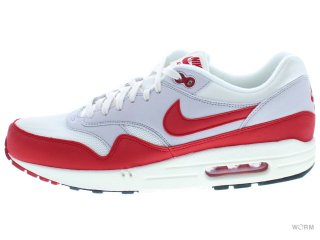 【US10.5】NIKE AIR MAX 1 OG 554717-160 sail/unvrsty red-ntrl gry-blk