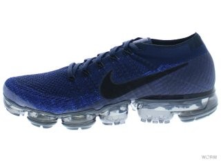 【US9.5】NIKE AIR VAPORMAX FLYKNIT 849558-400 college navy/black-game royal