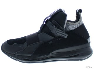 【US10】PUMA MCQ CELL BUBBLE RUNNER MID 361485-02 black-puma black-puma black