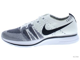 【US10.5】NIKE FLYKNIT TRAINER ah8396-100 white/black-white