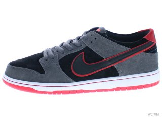 【US10】NIKE SB ZOOM DUNK LOW PRO IW 895969-006 dark grey/black-university red