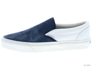 【US10.5】VANS CLASSIC SLIP-ON CA vn-0il5gkv (scotchgard)blue graphite