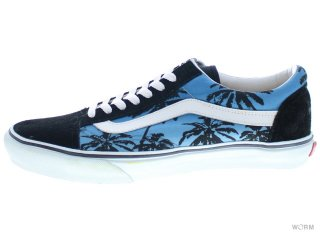 【US11】VANS OLD SKOOL 3923176110 aloha black/navy