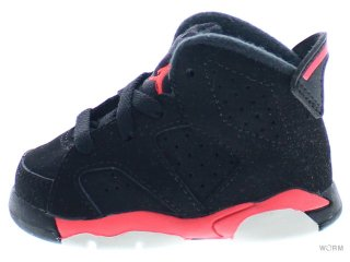 【9cm】AIR JORDAN 6 RETRO BT 384667-023 black/infrared 23-black