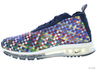 【US9】NIKE AIR MAX WOVEN BOOT SE ah8139-400 dark obsidian/dark obsidian