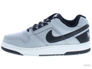 【US9.5】NIKE DELTA FORCE LOW 308908-001 silver/black