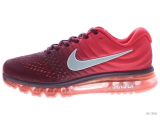 【US9.5】NIKE AIR MAX 2017 849559-601 wine red