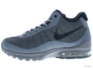 【US9.5】NIKE AIR MAX INVIGOR MID 858654-001 cool grey/black-green glow