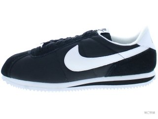 【US9.5】NIKE CORTEZ BASIC NYLON '06 317249-012 black/white