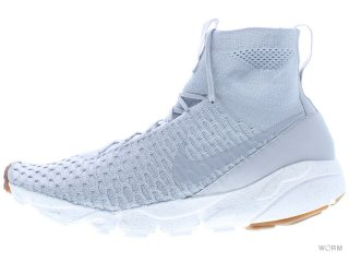 【US9】NIKE AIR FOOTSCAPE MAGISTA SP 652960-008 wolf grey/wolf grey-smmt white