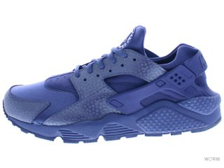 【27.5cm】NIKE WMNS AIR HUARACHE RUN PRM 683818-400 blue legend/blue legend