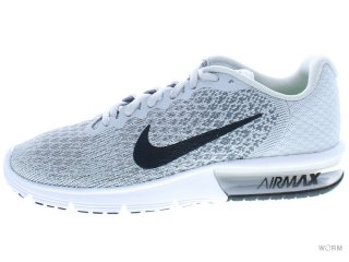 【US7】NIKE AIR MAX SEQUENT 2 852461-002 pure platinum/black-cool grey