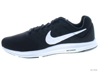 【25cm】WMNS NIKE DOWNSHIFTER 7 852466-010 black/white