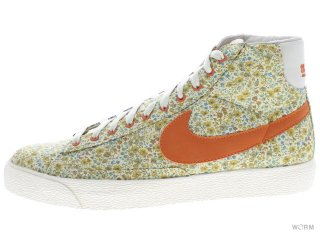 【29cm】NIKE WMNS BLAZER HI PREMIUM 317432-181 natural/solar orange