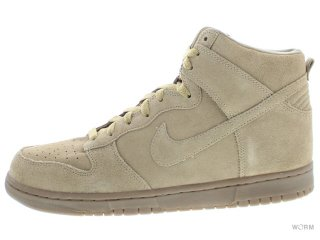 【US10】NIKE DUNK HIGH '08 APC SP 607543-220 hay/hay