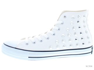 【US9】CONVERSE ALL STAR HEDGEHOG HI 1cj394 white/silver