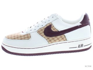 【28cm】WMNS NIKE AIR FORCE 1 PREMIUM 309439-161 sail/redwood