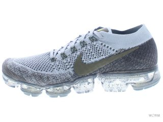 【US9.5】NIKELAB AIR VAPORMAX FLYKNIT 899473-009 midnight fog/medium olive