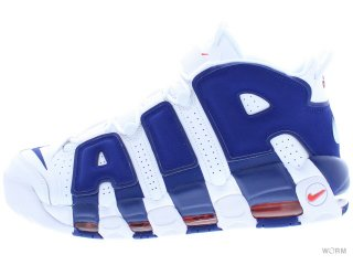 【US10】NIKE AIR MORE UPTEMPO '96 921948-101 white/deep royal blue