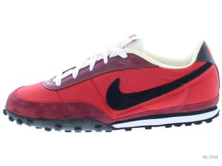 【US9】NIKE WAFFLE RACER II 303918-603 sport red/black-team red