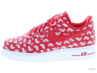 【US6.5】NIKE AIR FORCE 1 '07 QS ah8462-600 university red/university red